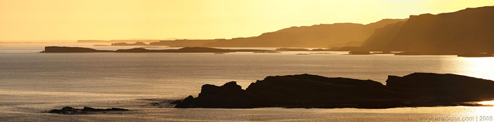 Sunset at Isle of Mull