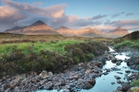 Cuillin Mountains from North, Isle of Skye